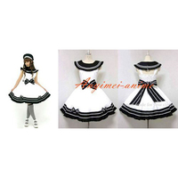 Uniform Dress Lolita School Girl Dress White Maid Dress Cosplay Costume Tailor made[CK1312]