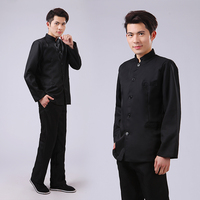 Young students Men's Tunic Costumes ancient costume Men suit graduation photo shoot Traditional Chinese Clothing set