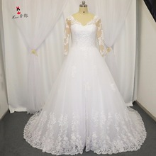 Lave U Me Wedding Dress Court Train Gowns Bride Dresses