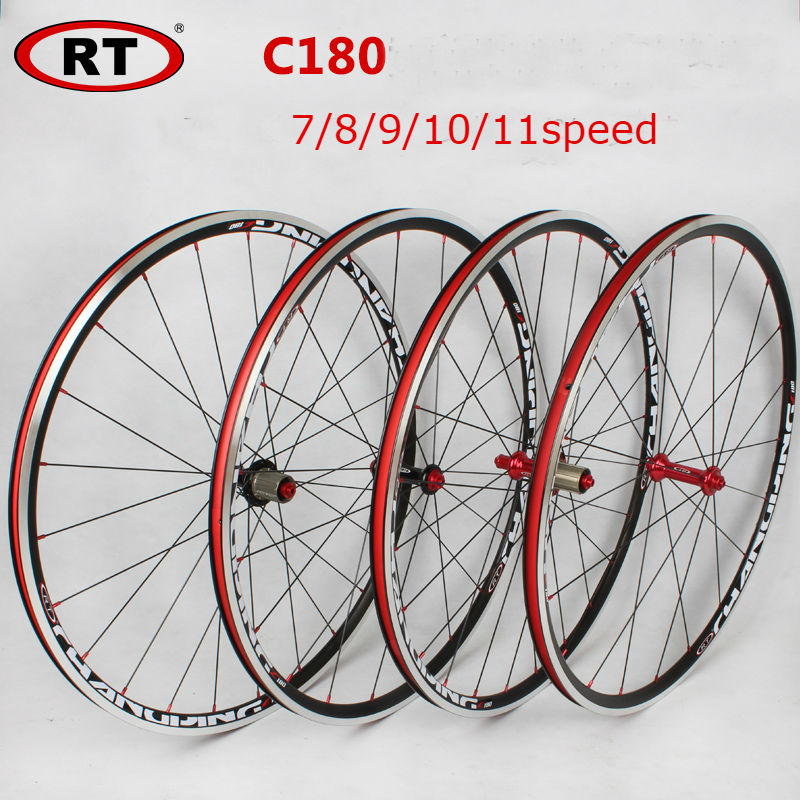 NEW Origin RT 120ring road wheels rt c180 Road Bike 700C wheel group Bicycle Wheelset Bike Rims A pair 1800g wheelset parts 1set front and rear 700c road bike wheel bicycle magnesium alloy three spokes parts integrated wheel fixed gear single speed