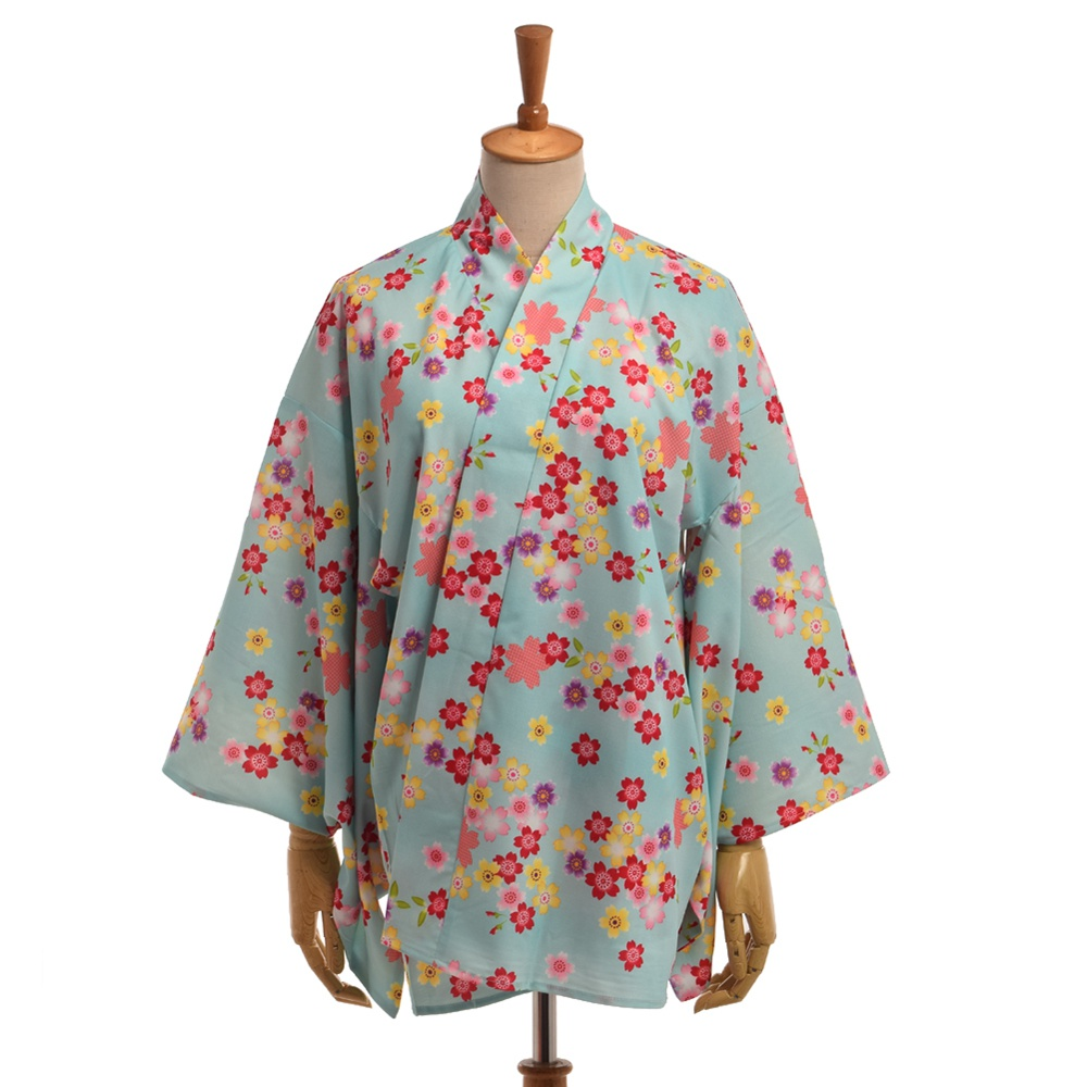 97845d91a Vintage floral japonês yukata sakura kimono mulheres lolita verão ...