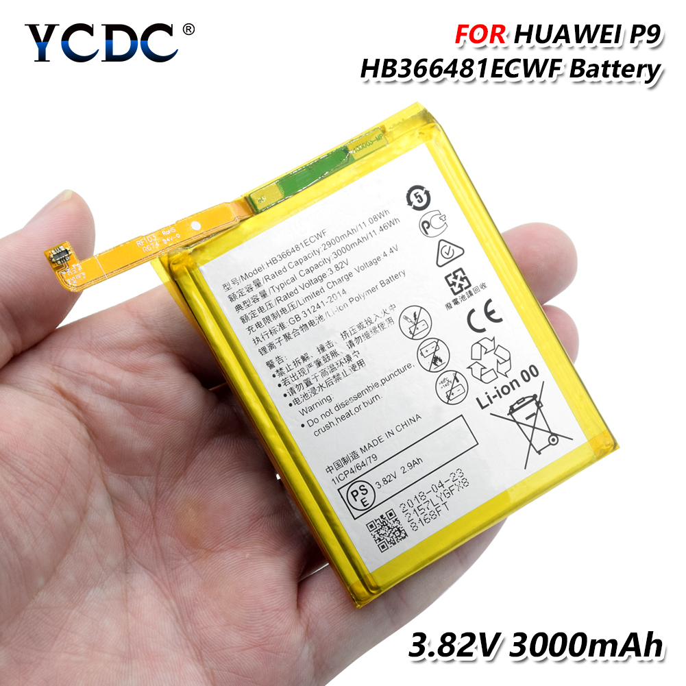 HB366481ECWF <font><b>Battery</b></font> For <font><b>Huawei</b></font> Honor 8 Honor 5C Ascend P9 <font><b>P10</b></font> Lite G9 Lite li-ion Li-Po Lithium Rechargeable phone <font><b>battery</b></font> image