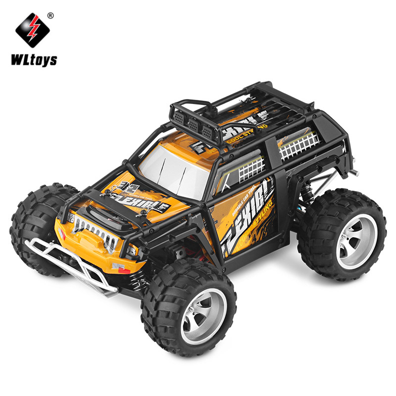 Wltoys 1:18 Electric 4WD RC Car Waterproof 45KMh High Speed Big Foot Off Road Car 2.4GHz Remote Controlled Radio Racing Cars Toy wltoys k979 super rc racing car 1 28 2 4ghz 4wd off road suv