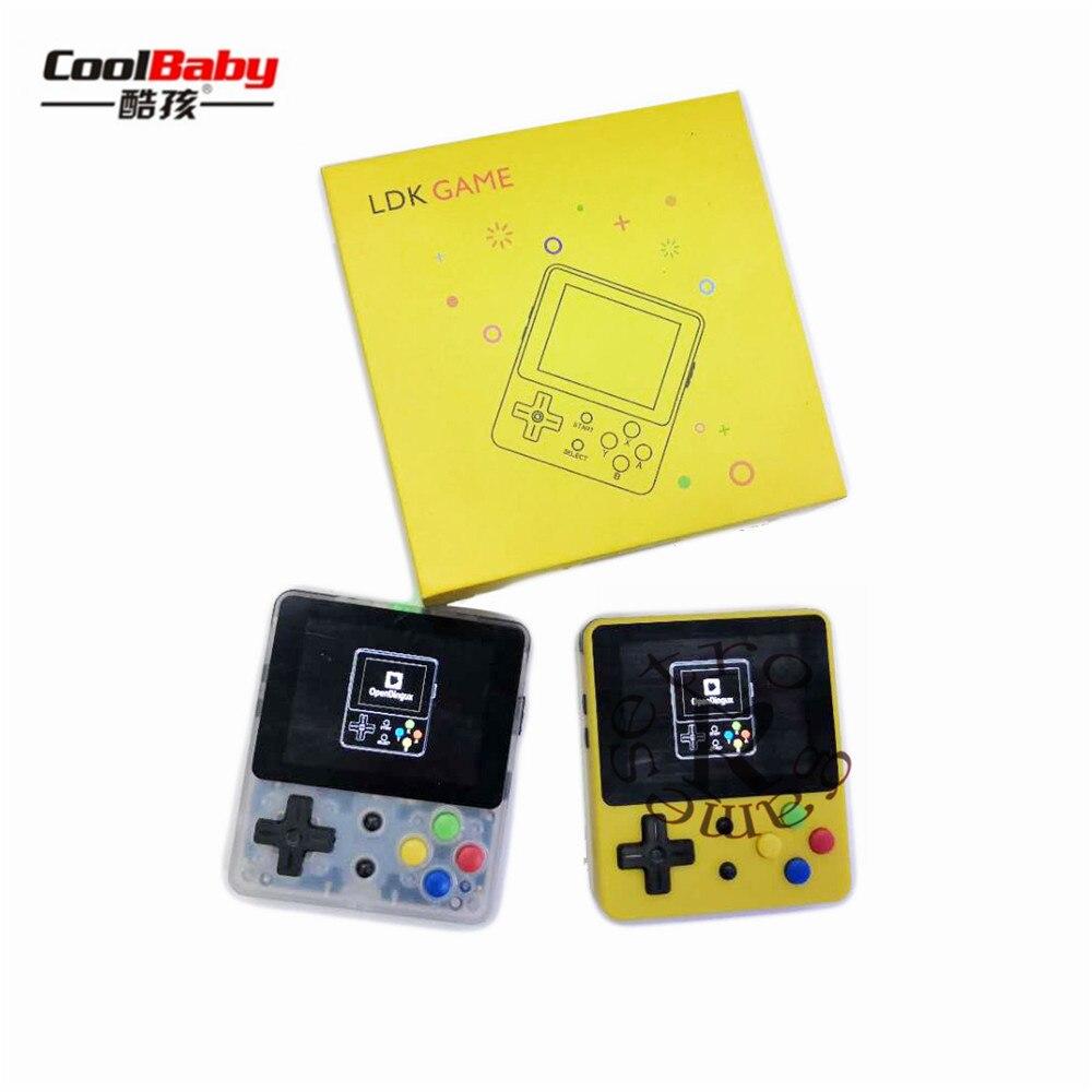 LDK OPEN SOURCE CONSOLE LDK jeu 2.6 pouces écran Mini Console de jeu portable nostalgique enfants rétro Mini famille rétro Consoles