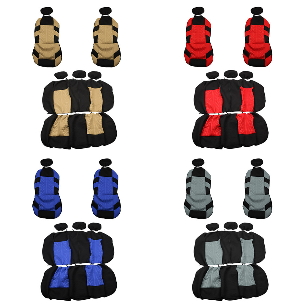 New Universal 4 Colors Classic Style Car Seat Cover Universal Fit Most CarSeat Cover Interior Accessories Seat Cover Car Styling