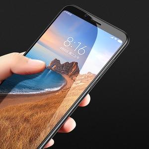 Image 3 - Xiaomi redmi 7A Screen Protector Volle Abdeckung Mofi redmi 7a Gehärtetem Glas Ultra Clear Front Schutzhülle 9H 2.5D 7A bildschirm Glas