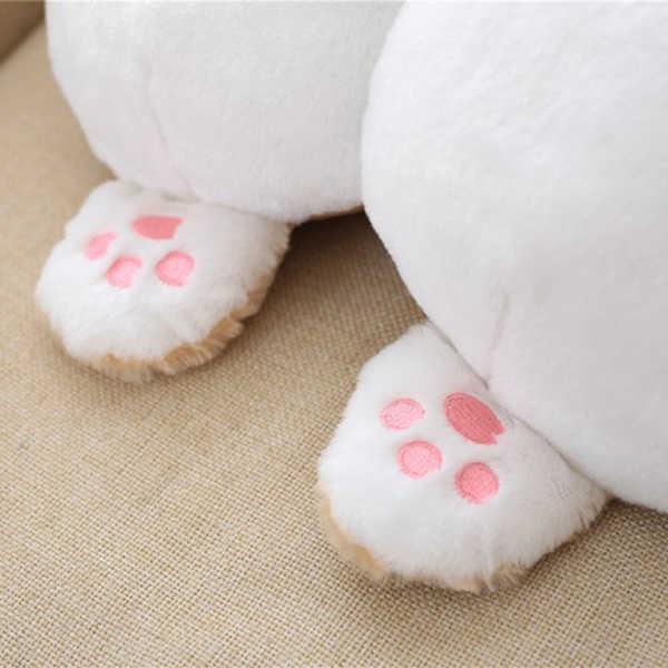 Новая Универсальная автомобильная подушка для шеи подголовник сиденья милые мягкие Корги в форме ягодиц подушки CSL2018