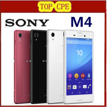 2016 refurbished Original Unlocked Sony Xperia M4 Aqua 3G&4G Android Quad-Core 13MP Camera 2GB RAM 5.0″ Wifi GPS Cell phone