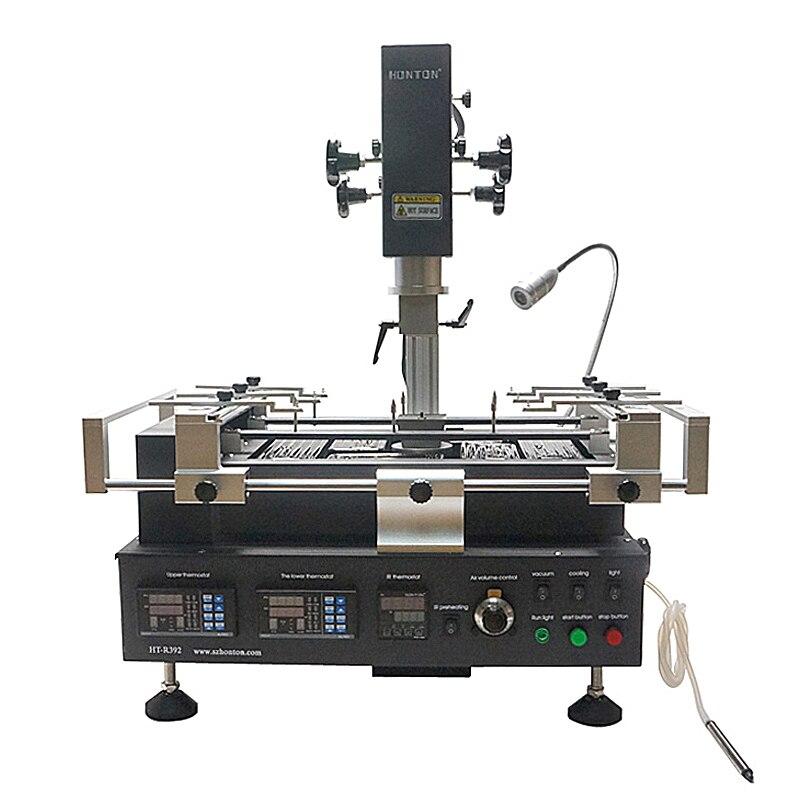 Honton HT máquina de solda 3 R392 zonas de temperatura infravermelho & lead free BGA estação de retrabalho ar quente 220 V 110 V