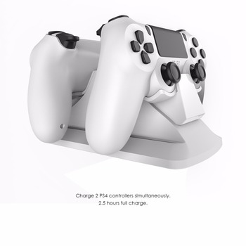 GameSir W60P191 Dual Controller Charging Station Stand Charger Dock for PS4 / PS4 Slim / PS4 Pro, Charger with Power Supply