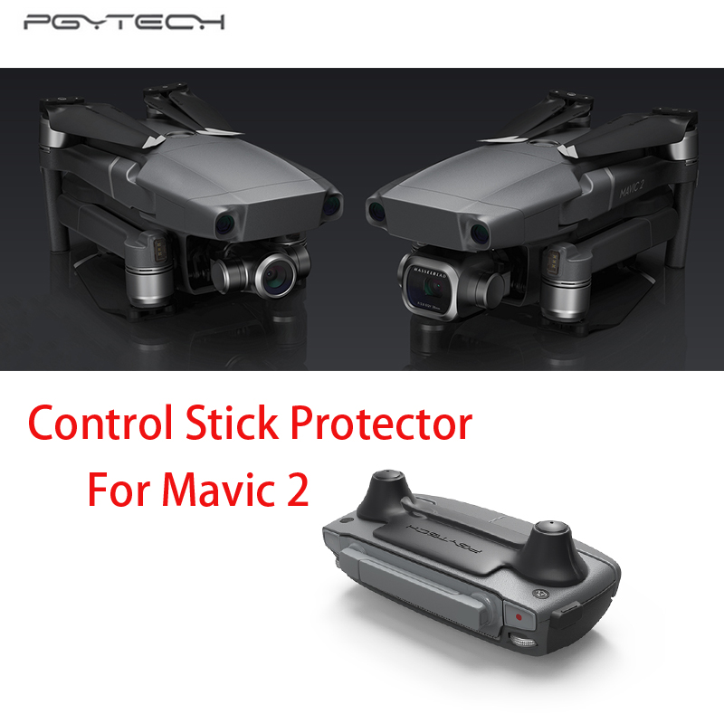 PGYtech Remote Control Thumb Stick Guard Rocker Protector Holder for DJI MAVIC 2 PRO/Zoom Drone Quadcopter Accessories remote control screen and rocker protector for dji mavic pro black