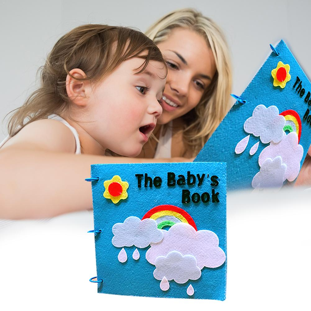 Kindergartens' Cloth Book Homemade Picture Book Children's  Cloth Book For Early Education Development Toys Reading Book