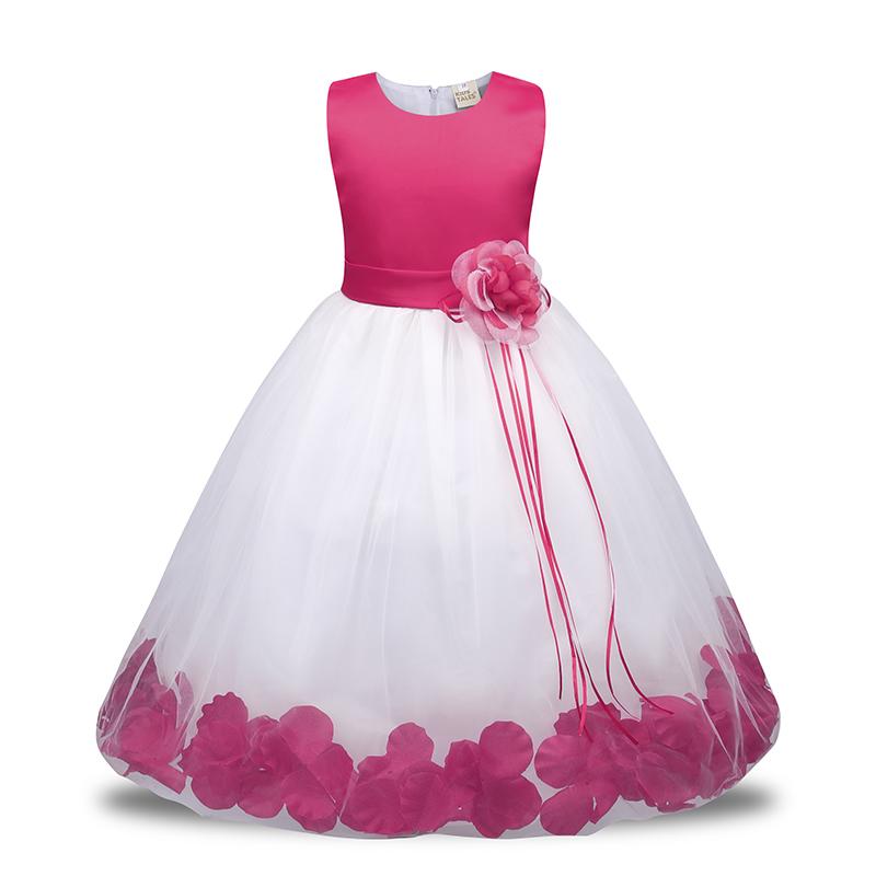 5cb8923e8fd1 Jq-234 New Flower Dress Little Girl Dresses Birthday Party Ceremonious  Wedding Toddler Girls Clothes Girl ...