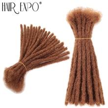 الشعر إكسبو مدينة الريغي زيادة في الشعر الكروشية Dreadlock الورك البوب الاصطناعية الشعر الكروشيه تجديل 20 السواحل/حزمة