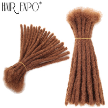 Hair Expo City  Reggae Crochet Hair Extension Dreadlock Hip Pop Synthetic Dreads Crochet Braiding Hair 20Strands/Pack