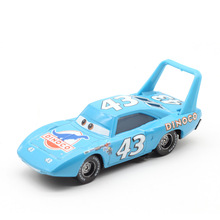 цена на Disney Pixar Cars 2 3 Lightning McQueen NO:43 Chick Hicks Metal Diecast Toy Car 1:55 Loose Brand New In Stock & Free Shipping