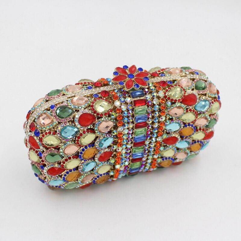 Mariage Femmes bags Luxe Soirée Minaudière e0108 Sac Sacs Dîner À bags Bags Ladie Cristal Smyzh D'embrayage Main Diamants De Nouveau Hn1YWY
