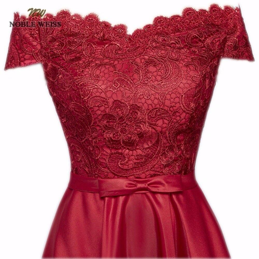 Elegant Boat Neck A-Line Floor-Length Lace Evening Dress Cheap Custom Made Prom Dresses Robe De Soiree Party Dress