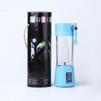 380ml USB Electric Fruit Juicer Machine Portable Blender Shake Handheld Smoothie Maker Rechargeable Juicer Bottle Juicers