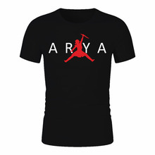 GAME OF THRONES T-Shirt Arya Stark Not Today T Shirt Summer Man Cool Fashion Design Crewneck Tee GOT