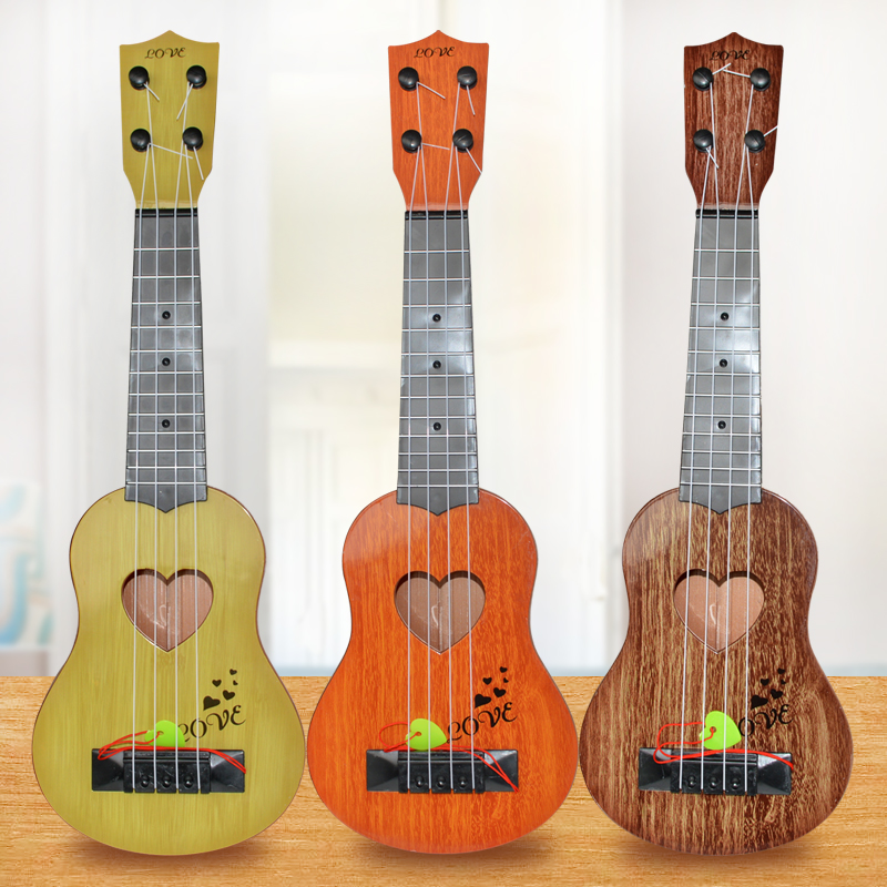 Musical Instrument Mini Ukulele Kids Guitar Toys Creative School Play Game For Children Education And Learning Christmas Gift