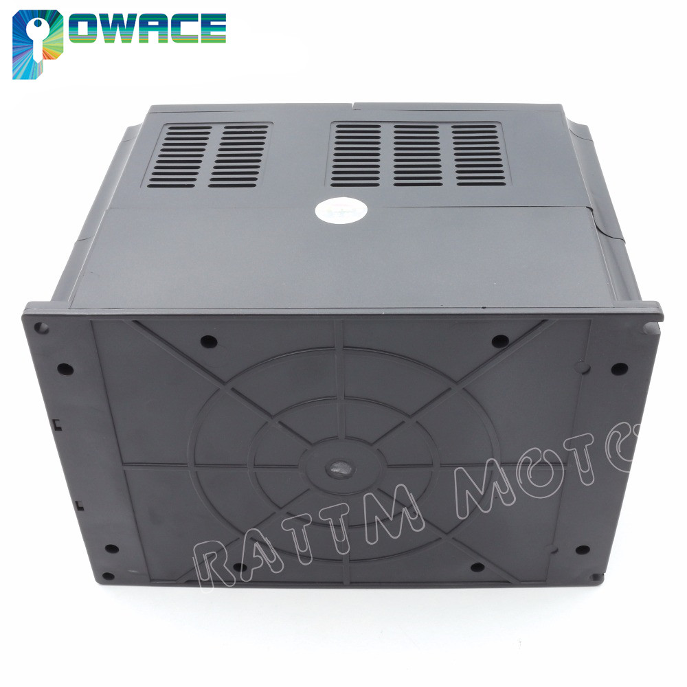 [EU KOSTENLOSER MEHRWERTSTEUER] 4KW 220V VFD HY Variable Frequency Drive Inverter 4HP 18A Speed Control & 2M Verlängerung kabel