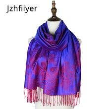 women stole jacquard scarf pashmina cotton paisley mujer cape scarf shawl brand pashmina opera cappa amice wraps shawls butterfly wing cape pashmina