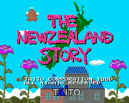 The Neszealand Story Game Cartridge Newest 16 bit Game Card For Sega Mega Drive / Genesis System