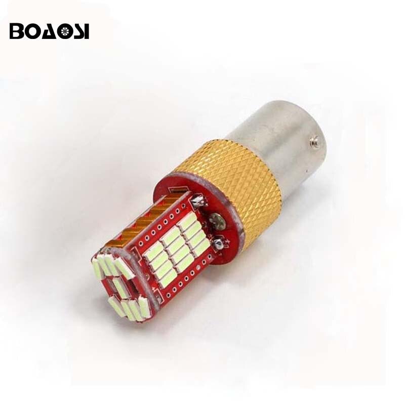 1pcs No error P21W BA15S 1156 Canbus 33 LED Bulbs 4014 SMD Rear turn signal light Reversing Light car Light Sourcing 10pcs car 1156 ba15s t25 t20 canbus led 5050 26smd no error turn brake signal led light bulbs fd 4697