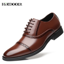 Luxury Brand Oxfords Shoes For Men Business Dress Shoes Patent Leather Brogue Office Dress Shoes Zapatos Hombre Sapato masculino