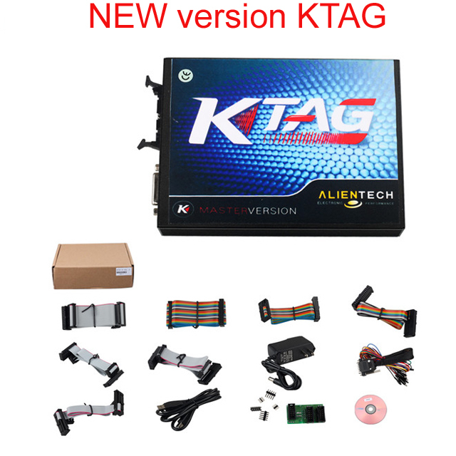 2016 KTAG V2.13 K TAG Firmware V6.070 ECU Programming Tool K-TAG Master Version No Tokens Limited Multi-Languages
