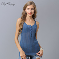 New style ice silk halter vest summer sleeveless knitting casmisole Women V Neck Cashmere Blend Knit Waistcoat Shoulder vest