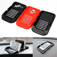 Car Dashboard Anti Slip Mat With Numbers Parking GPS Holders Phone Holder 3 Colors Non Slip