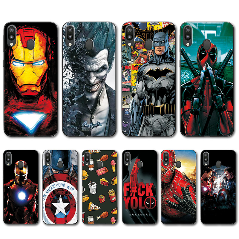Intellective For Samsung Galaxy M20 Captain America Back Cover Case M205f Novelty Tpu Phone Case For Samsung Galaxy M10 Bags M20 M10 Sm-m105f Cellphones & Telecommunications