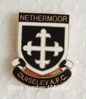 Custom FC Soccer Pin Badges NETHERMOOR GUISELEY A.F.C Soccer Lapel Pin Badge