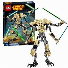 7 General Grievous Com Sabre De Luz de Star Wars Storm Trooper W/Gun Modelo Blocos de Construção de Brinquedos KSZ 714 Figura Compatível com Legoe