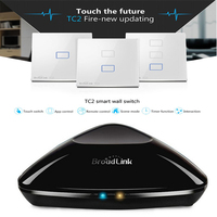 Smart Home Broadlink RM Pro RM2 TC2 1 2 3 Gang Smart Switch WiFi Wireless Controlled