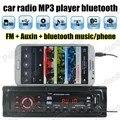 Best selling 1 Din Áudio Do Carro de controle remoto Auto Novo Auxina Estéreo Rádio do carro Jogador Do Bluetooth MP3 FM USB SD universal