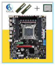 New motherboard X79  with E5 2660+8G(4G*2)ram 64G LGA 2011  DDR3 ATX mainboard  desktop motherboard