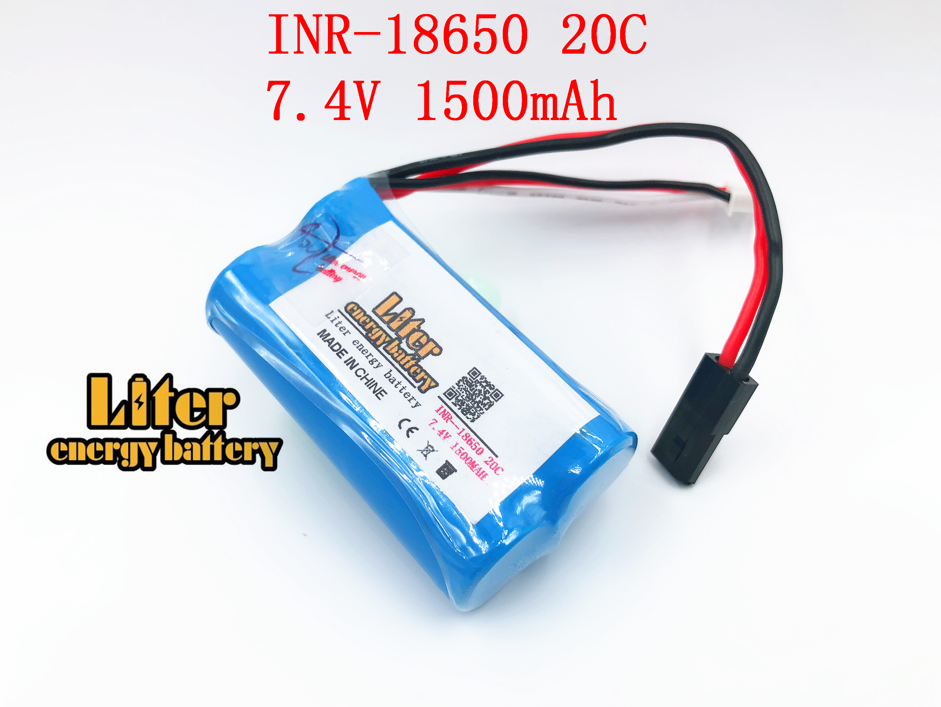 7.4V <font><b>1500mah</b></font> 20C <font><b>18650</b></font> power lithium <font><b>battery</b></font> <font><b>1500Mah</b></font> <font><b>battery</b></font> pack for remote control helicopter image