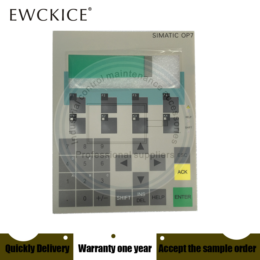 все цены на NEW OP7 6AV3 607-1JC20-0AX1 6AV3607-1JC20-0AX1 HMI PLC Membrane Switch keypad keyboard онлайн