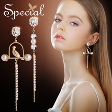 Special Brand Fashion Natural Pearls Drop Earrings Ear Hook 925 Sterling-Silver-Jewelry Gifts for Women S1919E