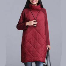 PLus Size S-5XL/6XL Winter Autumn Velour Turtleneck Women Coat,2018 Fashion Velour Long Sleeve Solid Color Lady Coat Vestidos