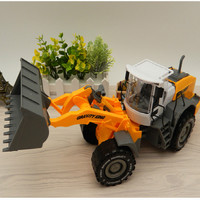 BIG size ABS Loader Truck Construction Vehicle Car Model Toy For Collection Kids Toys Brinquedos Boys Gift