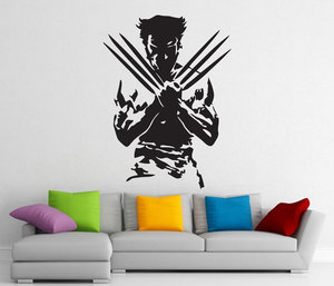 Image 1 - Wolverine, superhero, detachable sticker, vinyl decal, home interior art decoration, boy room fashion decoration CJY22