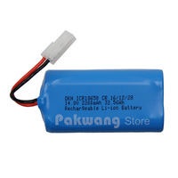 2200 MAH Lithium Ion Battery Of A380 Robot Vacuum Cleaner Parts Accessories
