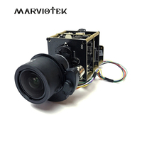 8MP Starlight UHD PTZ Network IP Camera Module Board 3X Zoom 9 22mm Motorized Lens Sony Onvif IMX274 4K Camera Module Board