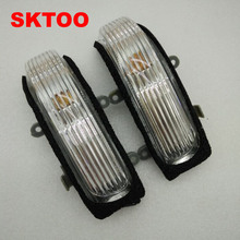 цена на Left and Right Rearview Mirror Lamp for Old Toyota Camry rear view mirror turning signal LED light side lamp