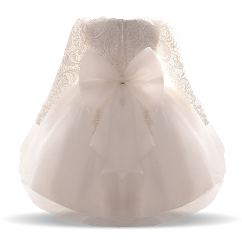 Toddler Girl Dress 2018 New Summer Newborn Baby Lace Long Sleeve Infant Girls Dresses Ball Gown O-neck Flower Children Clothes jioromy big girls dress 2017 summer fashion flower lace knee high ball gown sleeveless baby children clothes infant party dress