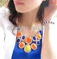 Qingdao N00307 Últimas Fábrica Precio Al Por Mayor de Alta Calidad de Las Mujeres Mujeres Declaración de Moda Collares Gargantilla Burbuja
